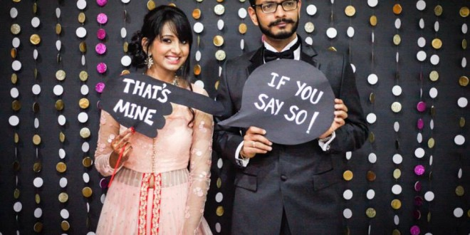 Photo Booth Props & Signs – Wedding Decor by Craftillicious
