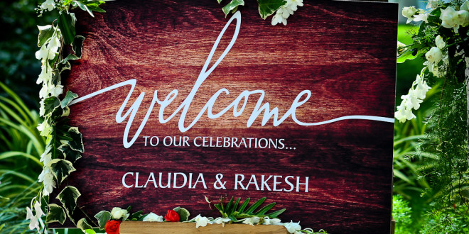 Claudia & Rakesh's Wedding in Bangalore