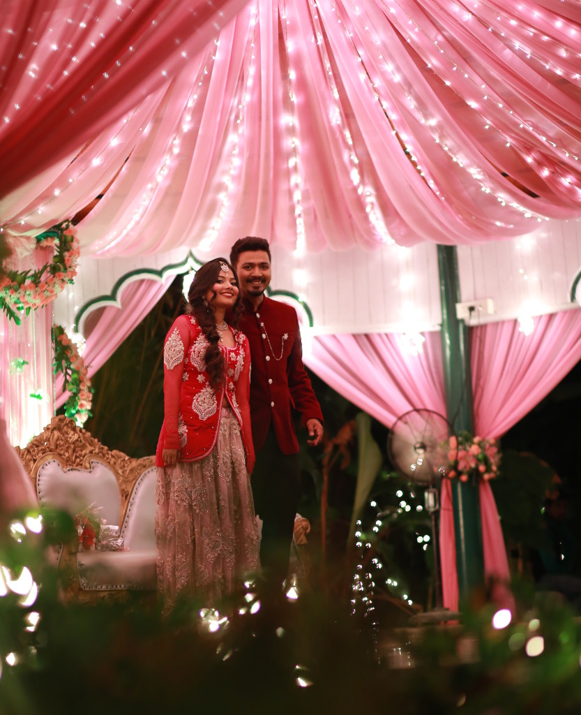 A Fun & Classic wedding reception @Bangalore {Wedding styling by ...